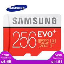 Karta pamięci SAMSUNG Micro SD 256GB 16GB 32GB 64GB 128GB SDHC SDXC klasa EVO + klasa 10 C10 UHS karty TF Trans Flash Microsd nowość