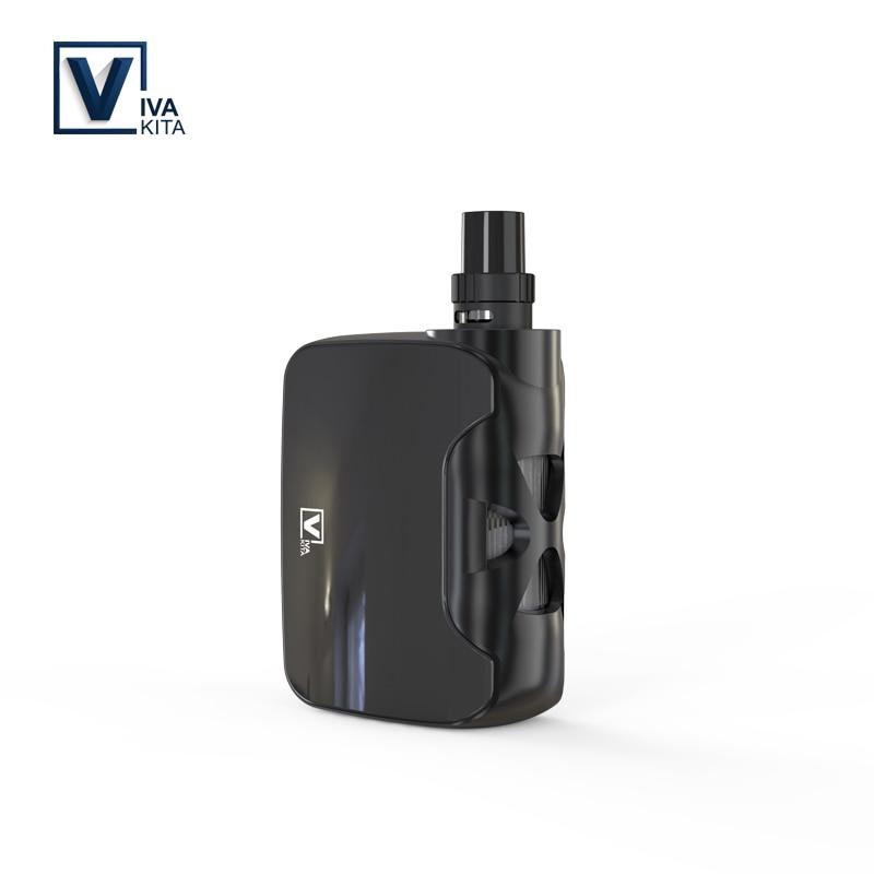BOX MOD 1500mah FUSION 50W electronic cigarette 2.0ML Atomizer Vapor vaporizer child-lock vape kit 0.25ohm kanthal coils vapor
