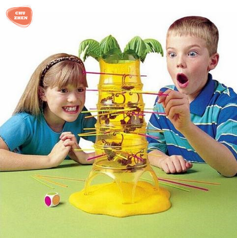 XL version Educational Interaction Toys Dump Falling Monkeys Table Game Board Game Kids Gifts Family Party Toys For Children