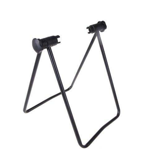 Gutes geschäft Fahrrad Bike Triple Radnabe Ständer Kickstand Reparatur Parkplatz Folding Universal