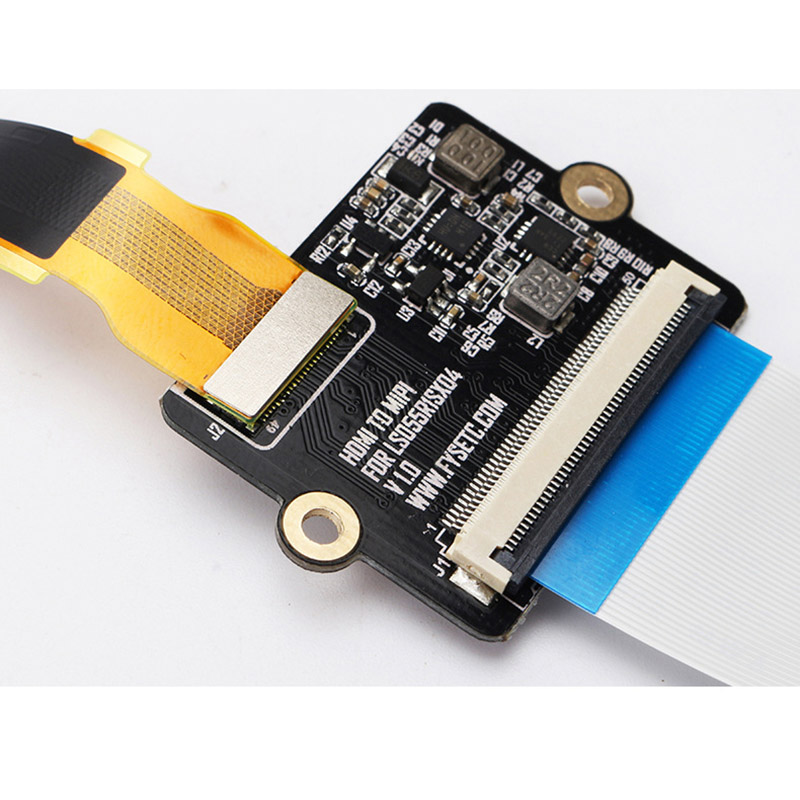 5.5inch LCD Display Module+HDMI to MIPI Driver Board+Flex Flat Cable Kit for Reprap 3D Printer Dropshipping