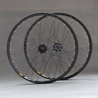 Бесплатная 26 ''29 27,5 32 отверстия дисковый тормоз Горный велосипед колеса МТВ колеса велосипеда спереди 2 сзади 4 подшипники M475 M525 концентрато