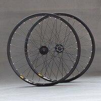free 26'' 29 27.5 32Holes Disc Brake Mountain Bike Wheels MTB Bicycle Wheels front 2 rear 4 sealed bearings M475 M525 hubs