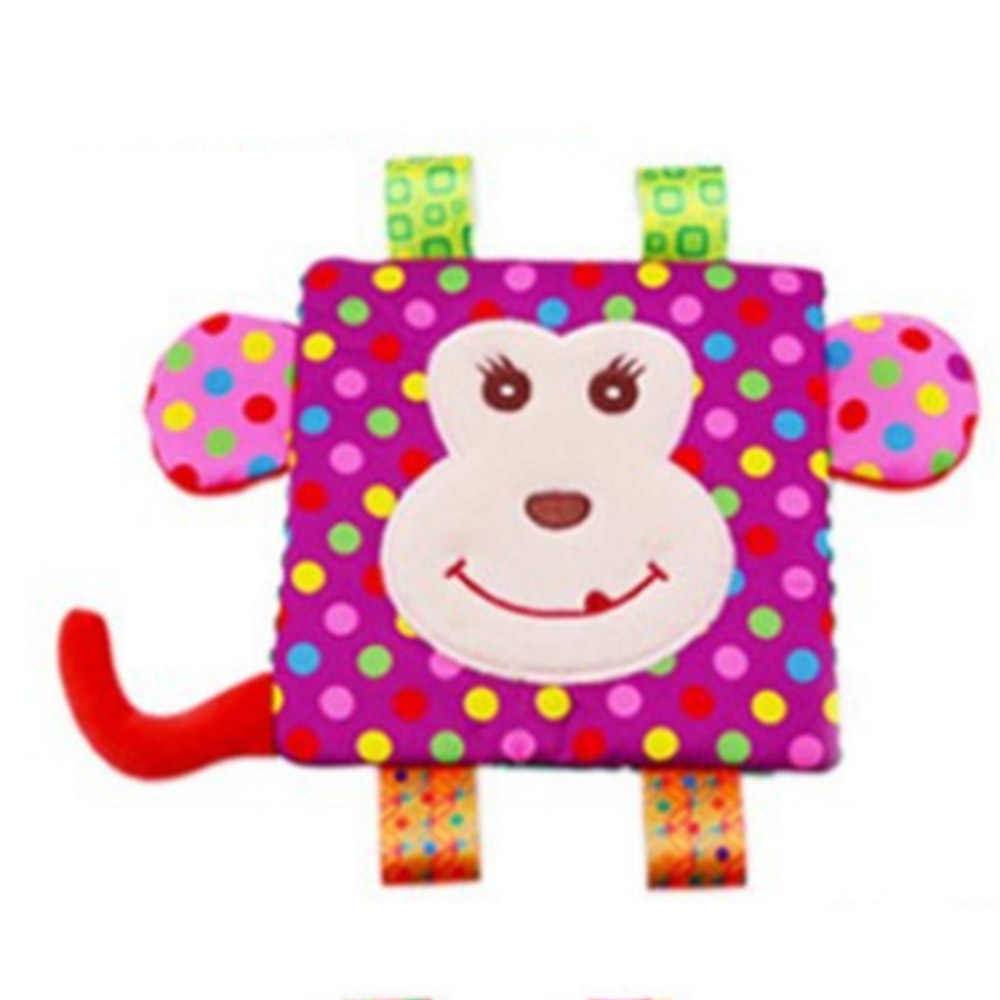 6 Style Baby Comforting Blanket Super Soft Cartoon Animal Square Label  Plush Baby Appease Towel Baby Toys bf0b70647