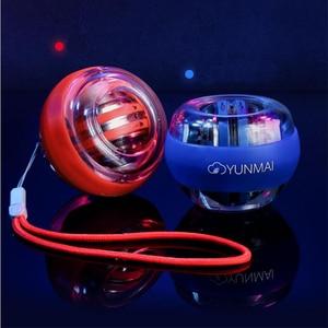 Image 5 - Youpin yunmai тренажер для запястья, светодиодный Гироскопический Спиннер, Гироскопический шар для Mi jia mi home ki D5 #
