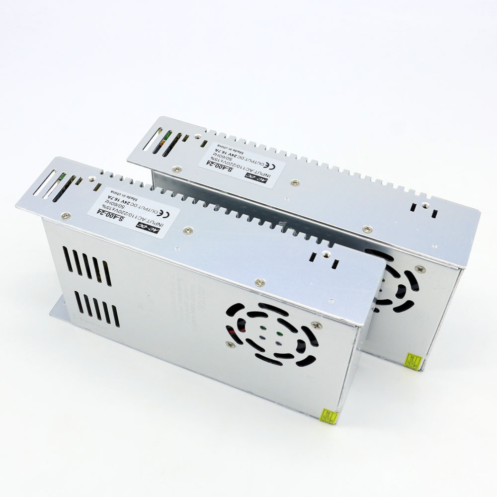 Professional Sales Switching Power Supply Ac to Dc 24V 400W Constant Voltage Converter