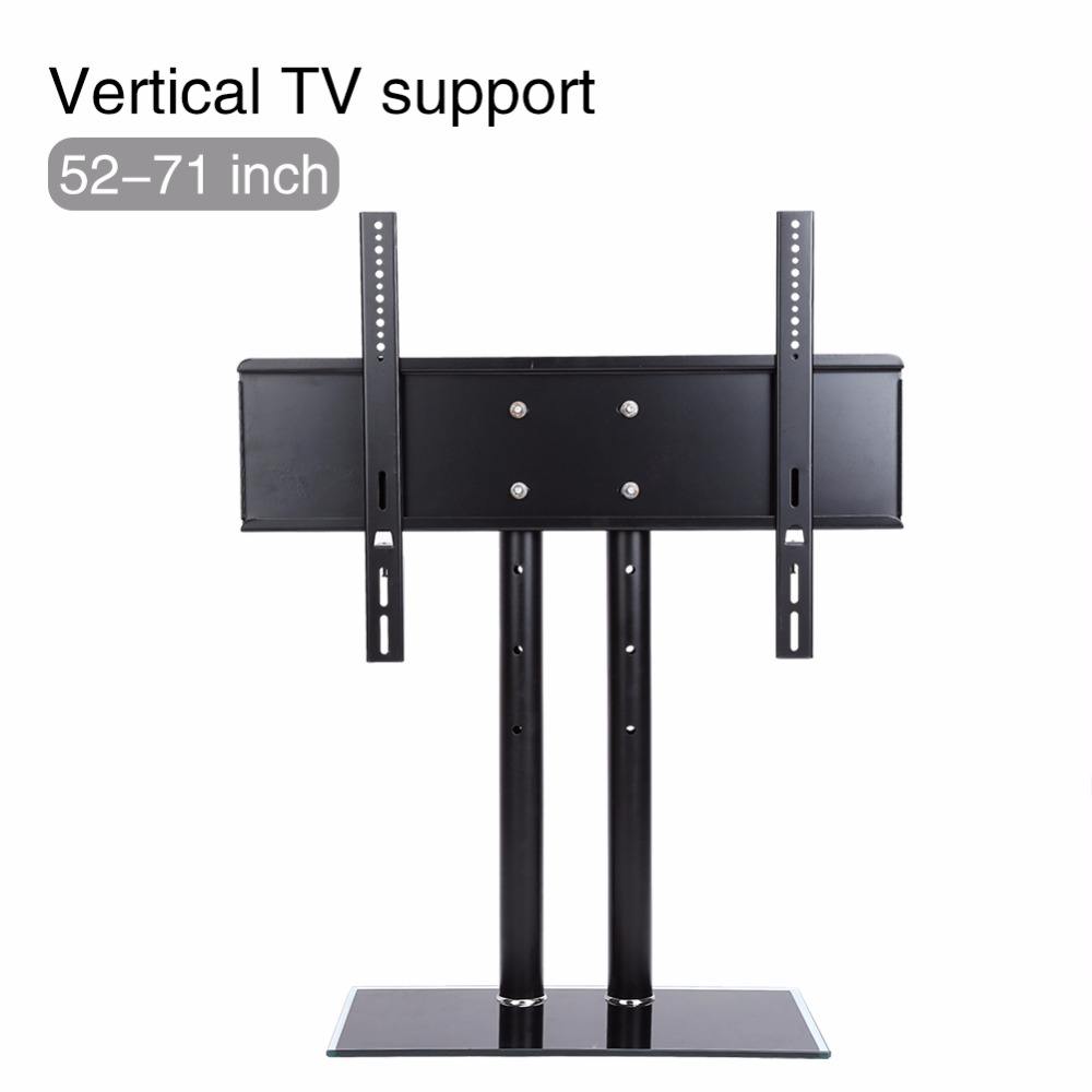 "Heavy Duty 26/""-71/"" Universal Table TV Stand Bracket Pedestal LCD LED VESA Mount"