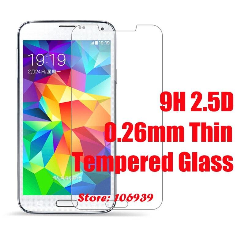 9 h 2.5d 0.26mm accesorio del teléfono de cristal templado para samsung galaxy s