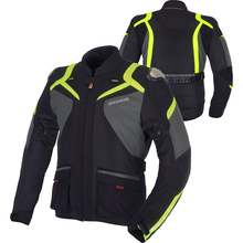 BENKIA Motorcycle Jacket Moto Motorbike Racing Jacket Spring Summer Autumn Motocross Clothing With Windproof Liner Blouson Moto