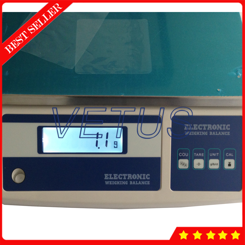 Lcd scherm Elektronische Weegschaal 0.1 Resolutie Elektronische Platform Schaal 10MB - 3