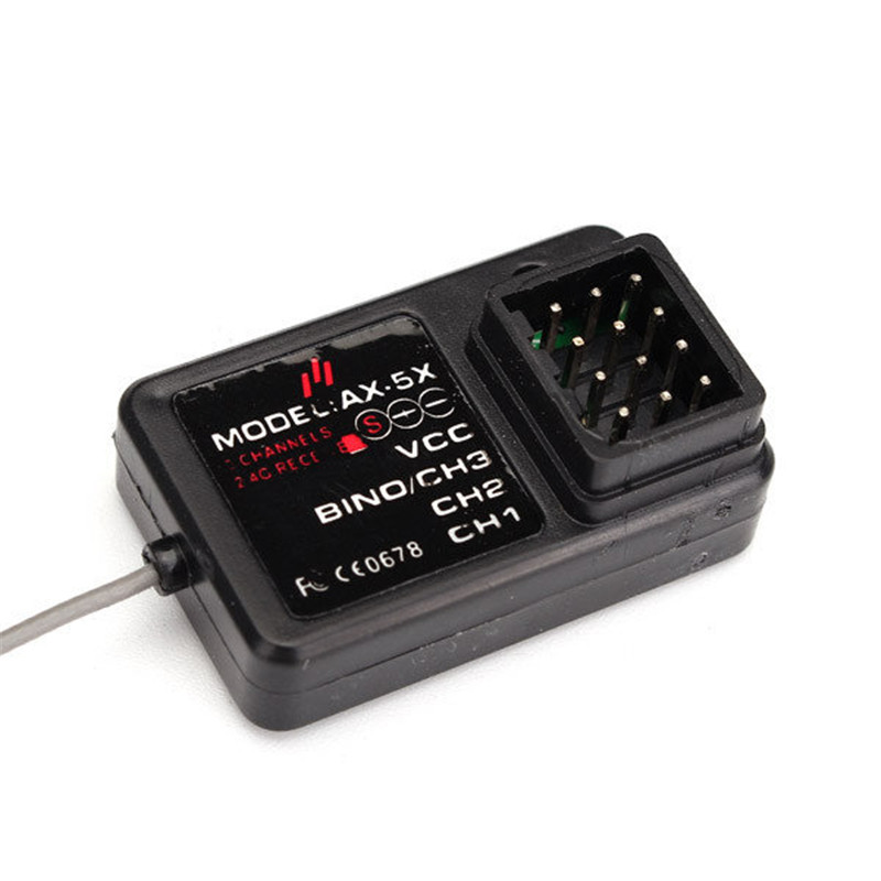 New Version AUSTAR AX5 3 Roles 2.4G Receiver For Transmitter Rc Parts недорого