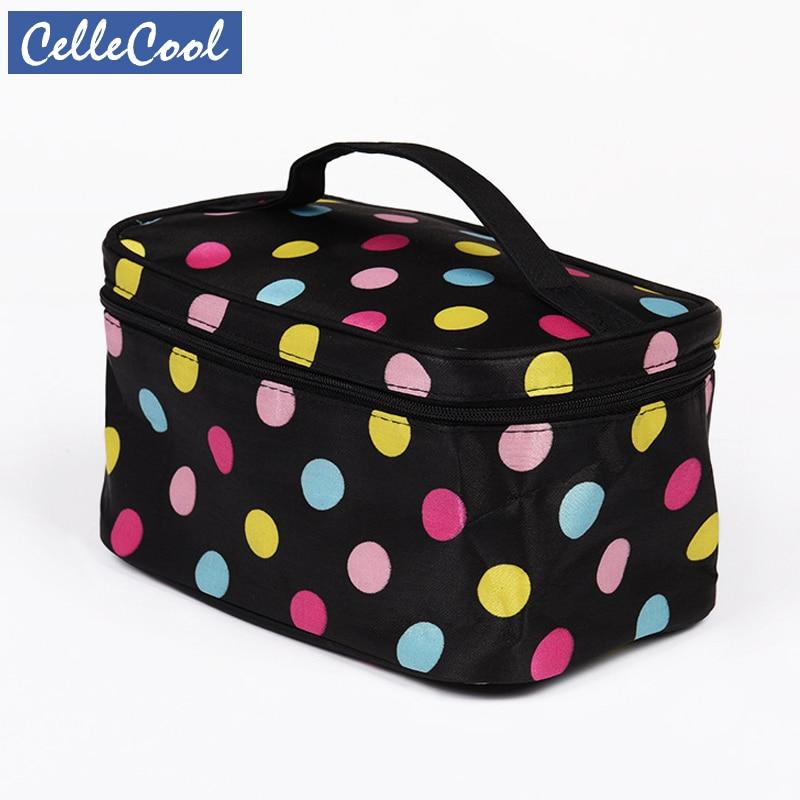 Fashion Letter Makeup Bag Cosmetic Bag Women Square Travel Handbag Toiletry Organizer Solid High Capacity Bags Girls CC011