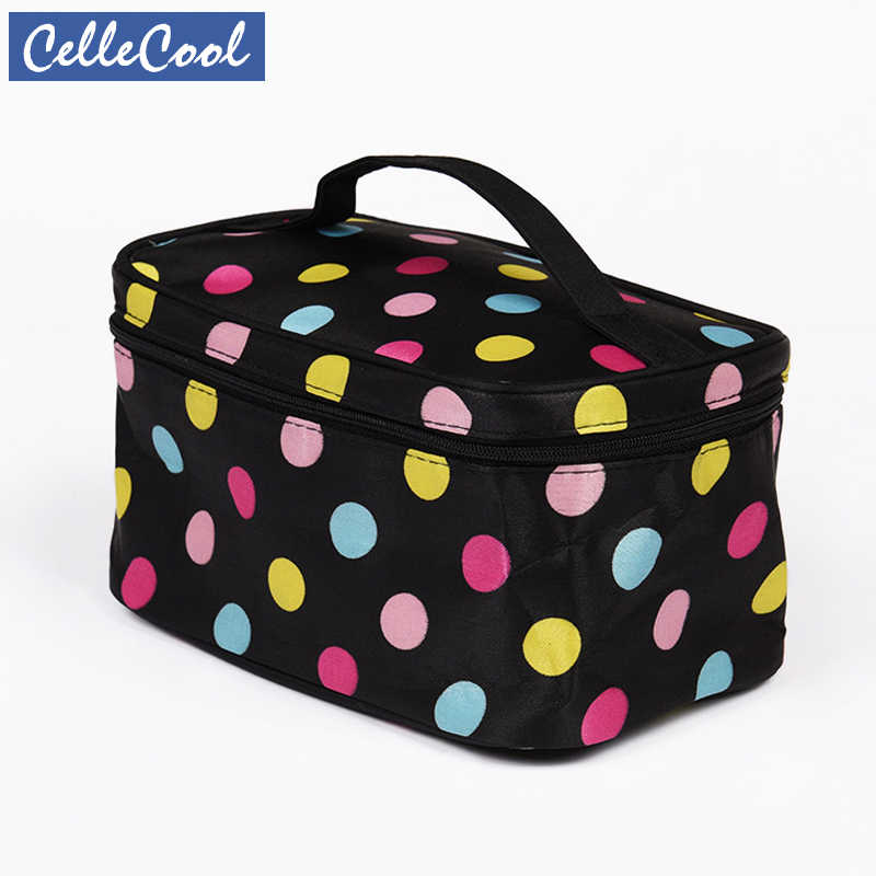 Fashion Letter Makeup bag Cosmetic bag Women Square Travel Handbag Toiletry Organizer Solid High Capacity Bags Girls CC011