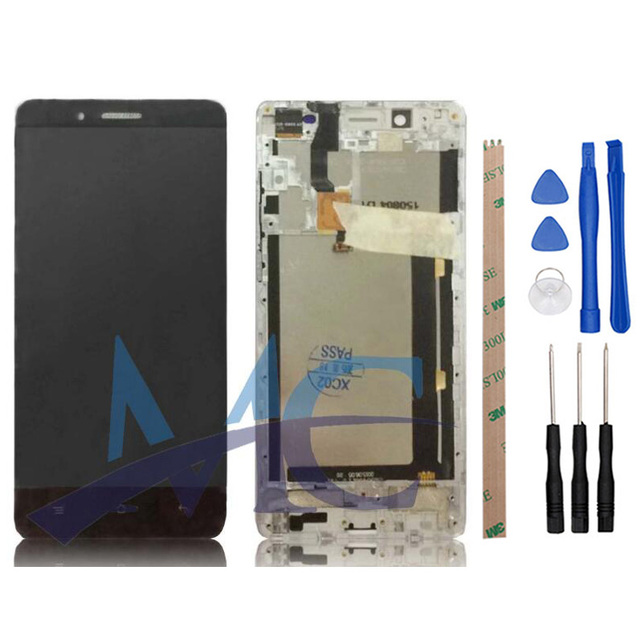 For Cubot X16 LCD Display and Touch Screen With Frame Digitizer Assembly Repair Part For Cubot X16 With Tools