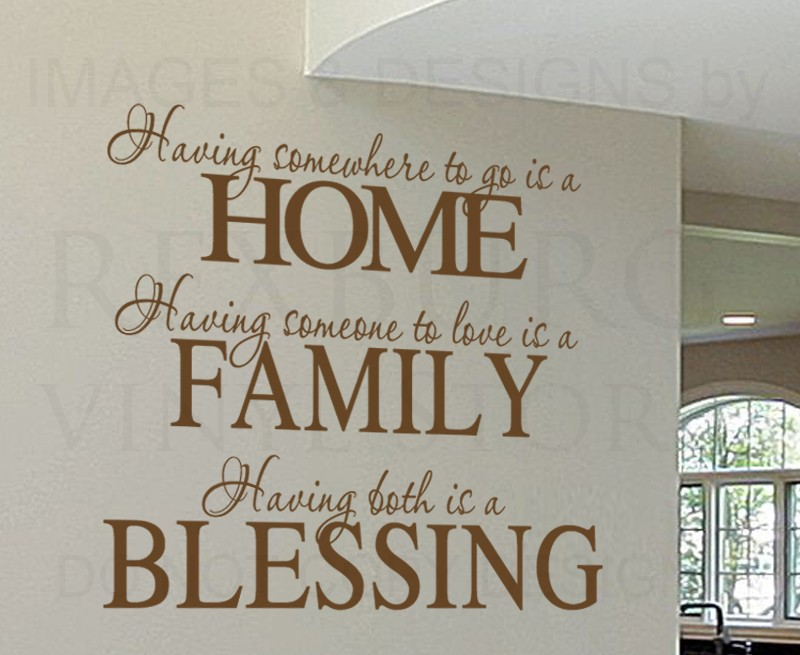 Nice Online Shop Wall Decal Sticker Quote Vinyl Having Somewhere To Go Is A Home  Family Love Wall Art Decor Aliexpress MobileOnline Shop Wall Decal Sticker  Quote ...