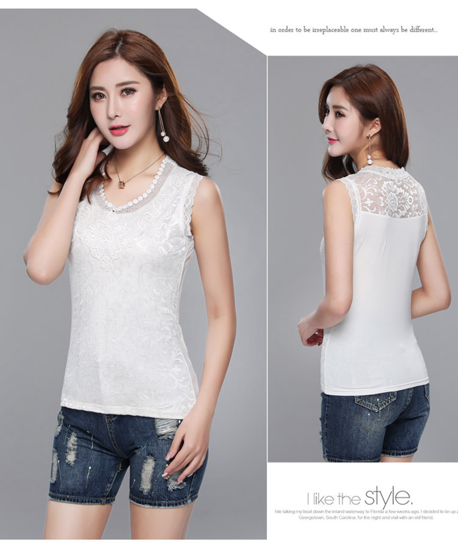 9883 lace shirts women (2)