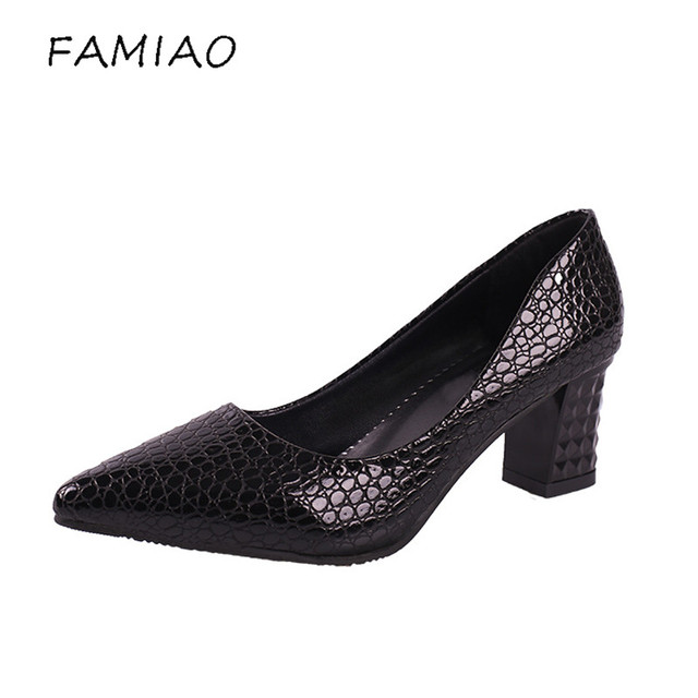 2018 new Women Pointed Toe Fashion Sexy Shoes Women High Heels Pumps Wedding Shoes Business Working Shoes lady Zapatos Mujer L13 cheap outlet store jsPzoF4DQz