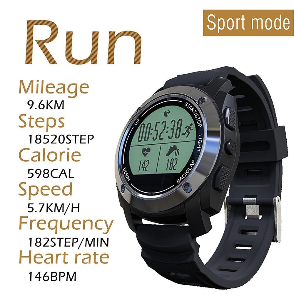 2018 Nuovo Arrivo S928 GPS Sport All'aria Aperta Orologio Intelligente Impermeabile Vita con Monitor di Frequenza Cardiaca di Pressione per Android IOS Cellulari
