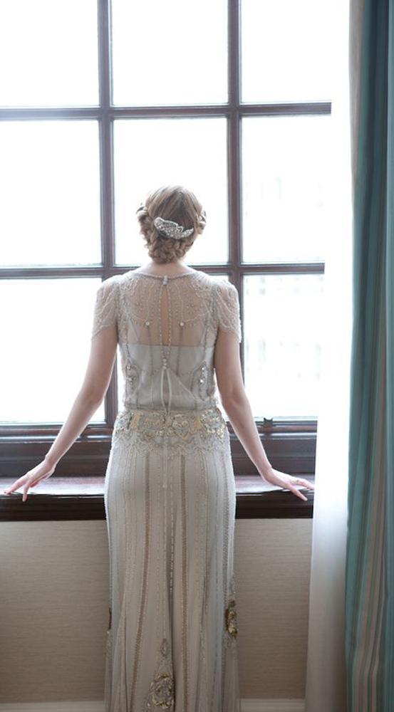 Luxury Ivory Jenny Packham Eden Style Wedding Dresses Sheath with ...