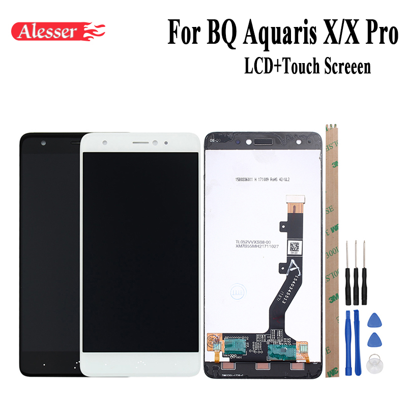 Alesser For BQ Aquaris X X Pro LCD Display and Touch Screen Assembly Repair Parts 5