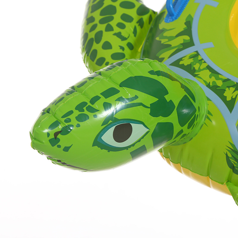 Baby Swimming Ring Inflatable Infant Seat Floating Kids Swim Pool Accessories Circle Tortoise Cute Animals pool (4)
