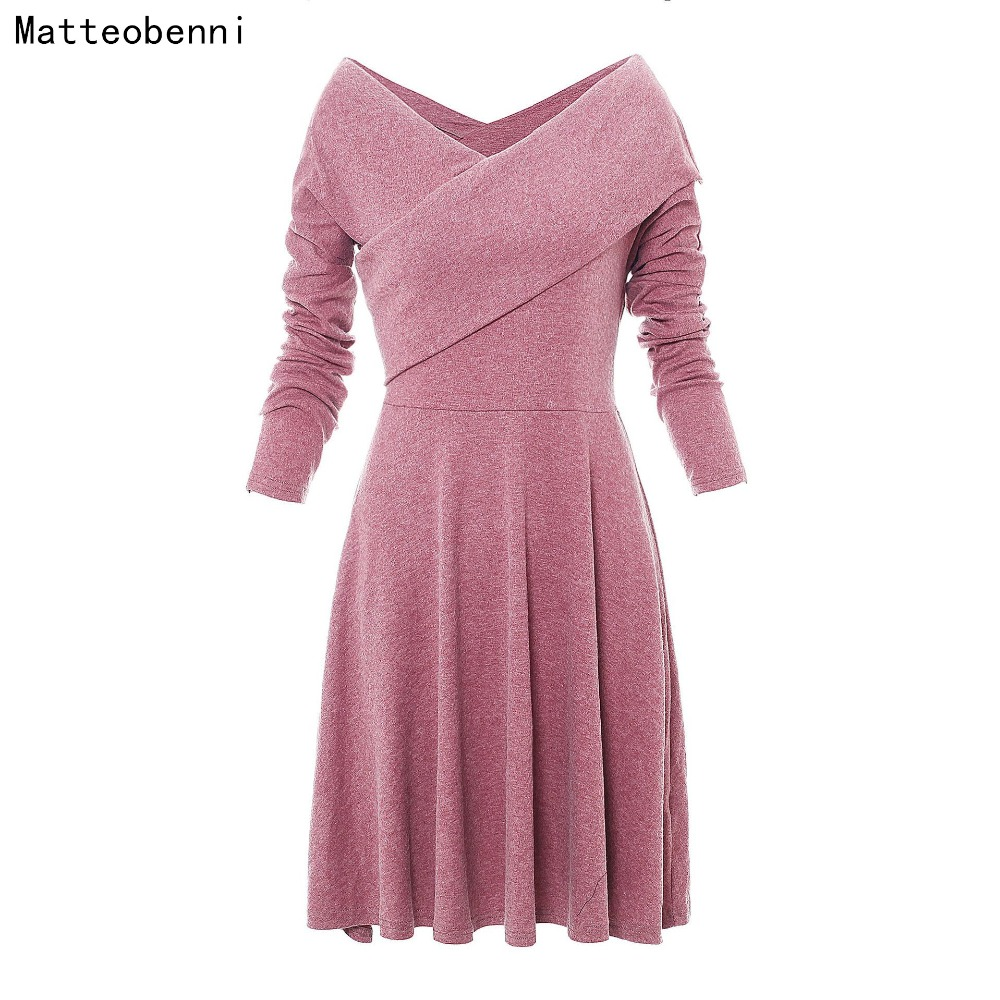 Women Elegant Long Sleeve Ruched Pink Vintage Tunic Pinup Work Business Office Party Bodycon A Line Skater One Piece Dress Suit