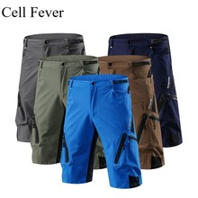 Men's Cycling Shorts Outdoor Sports MTB Mountain Bike Bicycle Riding Trousers Breathable Loose Quick Dry Riding Shorts M-4XL men summer cycling shorts down hill mtb bike bicycle ridding racing breathable quick dry clothing for outdoor sports