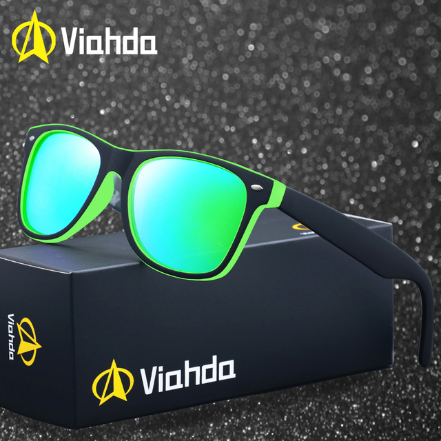 6749bf176524 2019 Viahda Brand Polarized Sunglasses Men Driving Sun Glasses For Women  Hot Sale Quality Goggle Glasses Men Gafas De Sol