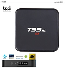 Sunvell T95M Inteligente Android TV Box Set-top Box RAM 1G 2 GB Juego top box 4 K Amlogic S905 Miracast DLNA Airplay HD Reproductor Multimedia Inteligente