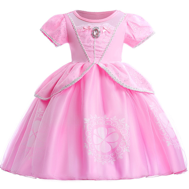 Princesse Robe Cendrillon Filles Robe De Bal Cosplay Partie Robe Fantaisie Enfants Vêtements Costume Pour Enfants Robes Pour Les Filles