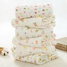 Newborn Baby Swaddle Wrap Blanket Muslin Cotton Infant Bebes Swaddling Bath Towel Soft Toddler Children Stroller Cover 105*105cm