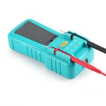 2900A Digital Automotive Multimeter 6000 Zählt True RMS AC/DC Volt Amp Ohm Dwell Winkel Dreh Geschwindigkeit Temperatur Tester