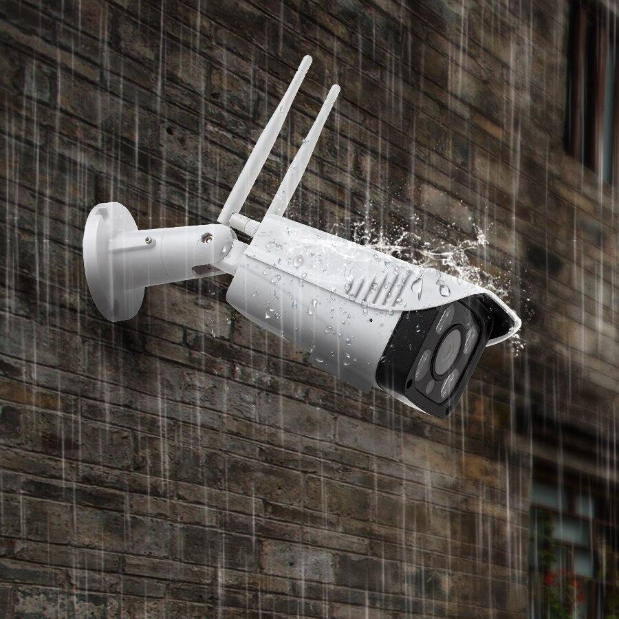 KERUI Full HD 2MP 1080 P étanche WiFi caméra IP Surveillance caméra extérieure sécurité Vision nocturne Cloud stockage CCTV caméra