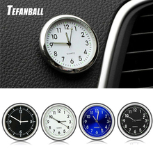 Car Ornament Automotive Clock Auto Watch Automobiles Interior Decoration Stick-On Fashion Accessories Gifts 2019