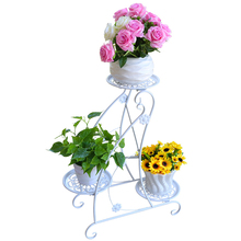 Outdoor Metal Raflar Shelves Planten Rek Support Plante Salincagi Decoration Plant Stand Balkon Shelf Balcony Flower Iron Rack