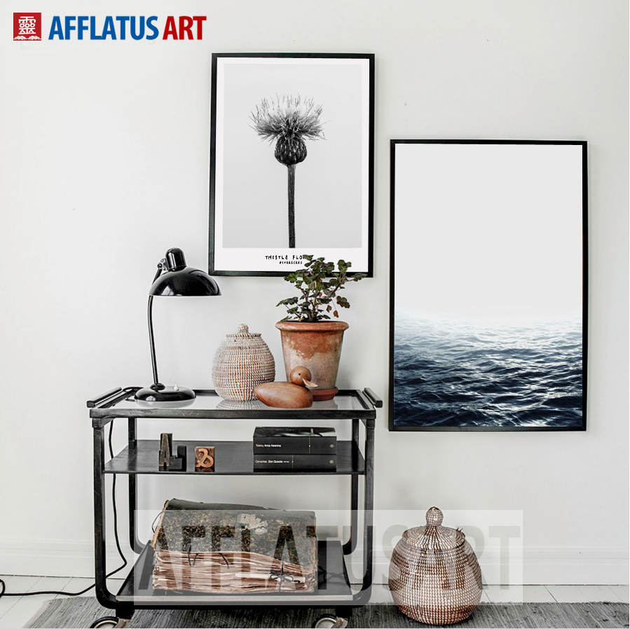 Скандинавия минимализмі Теңіз - Үйдің декоры - фото 2