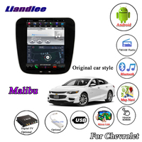 Liandlee For Chevrolet Malibu XL 2015~2019 Android Multimedia GPS Original style Stereo Radio Carplay Wifi Map Navi Navigation