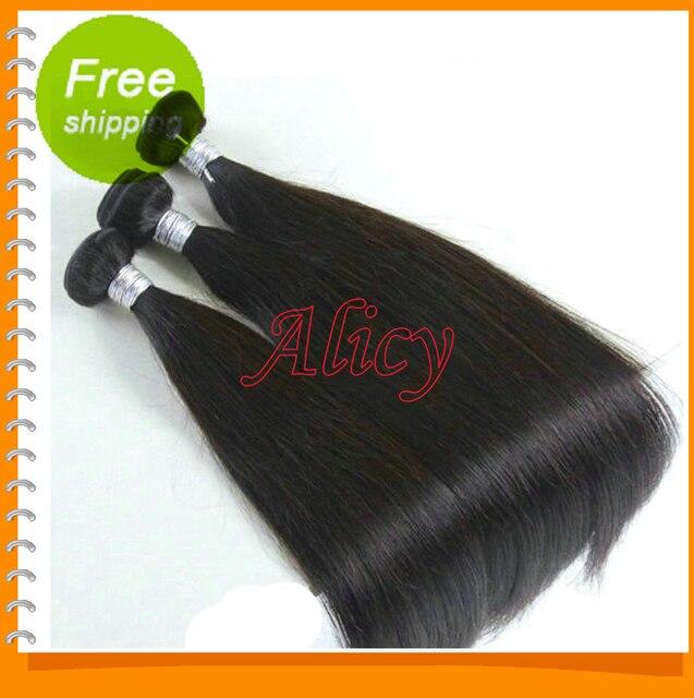 Cheap YY hair Juliet hair products Grade 5a Peruvian 100% blonde virgin human remy hair straight black 3 pcs lot free shipping