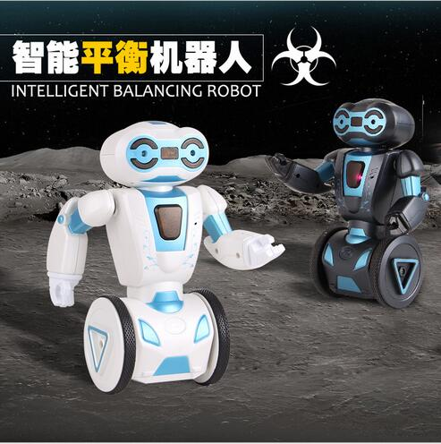 Hot sell Intelligent induce RC Dance Music Robot HG-702AB Remote Control balance Robot Electric Indoor Toy as best Chrismas gift large size smart remote control robot rc robot kids rc animal toys intelligent dance