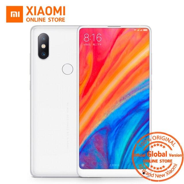 """Global Version Xiaomi Mi Mix 2S Snapdragon 845 6GB 64GB 5.99"""" Full Screen AI Dual PD Camera Face ID NFC Qi Wireless Charging"""