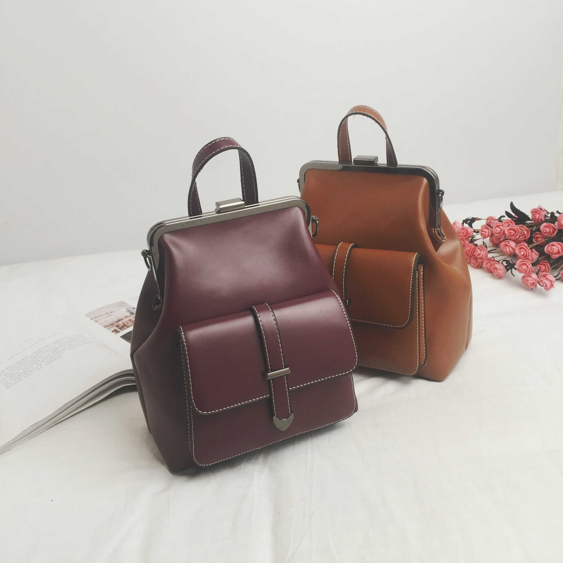 3d7cb043bd5 Detail Feedback Questions about WKKGO Vintage Brown Student School ...