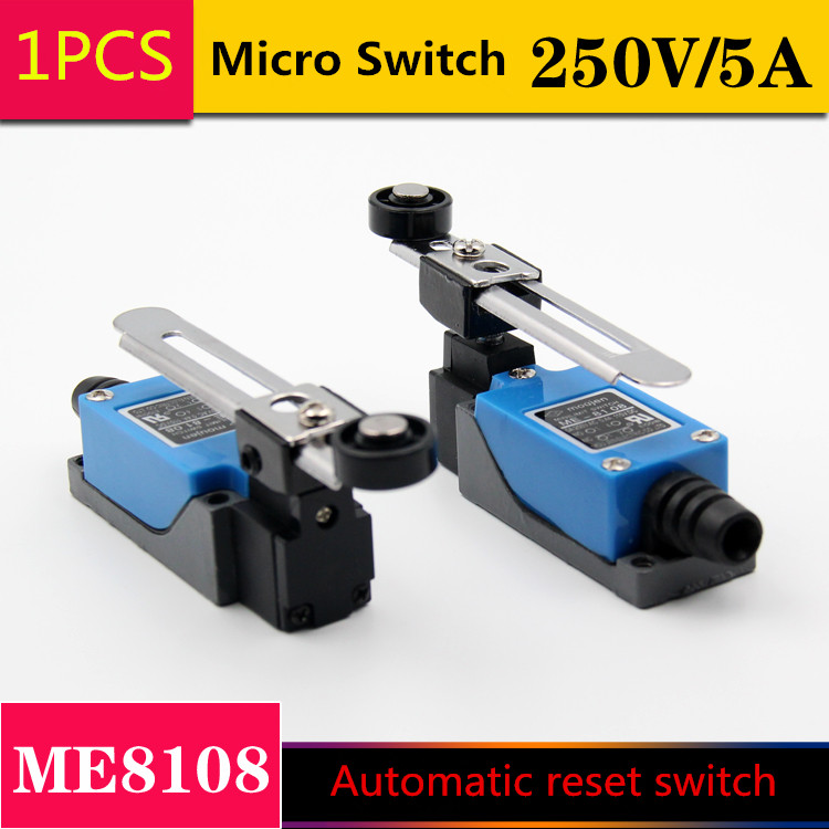 1PCS/LOT YT1038   Travel Switch  Automatic Reset     Micro Switch  250V/5A      ME8108 5 pcs micro switch d2fc f 7n 10m for mouse replacement substitute tested