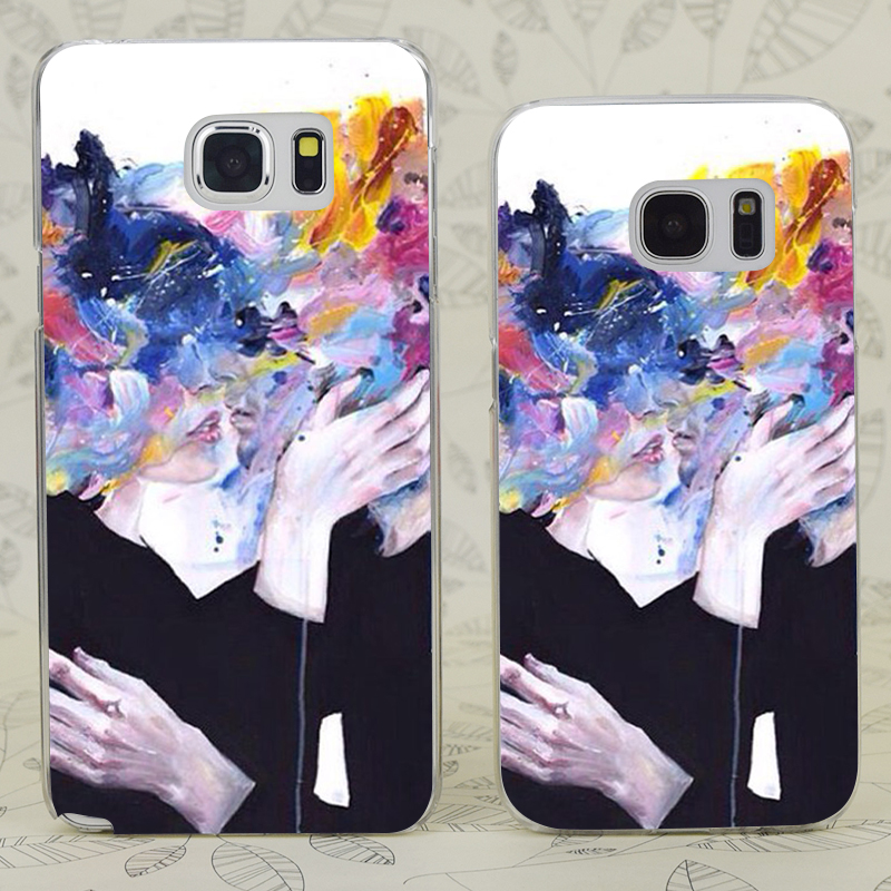 C4465 Intimacy On Display Transparent Hard PC Case Cover For Samsung Galaxy S 3 4 5 6 7 Mini Edge Plus Note 3 4 5 7