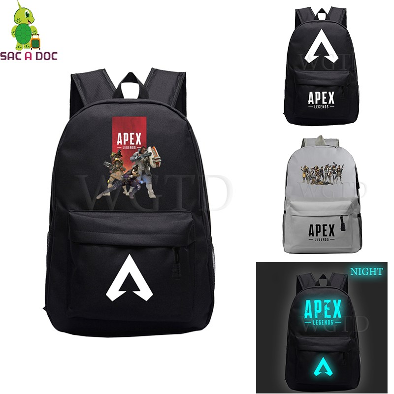 Apex Legends Titanfall Luminous Backpack School Bag for Teenage Girls Boys Laptop Backpack Daily Backpack Casual Travel RucksackApex Legends Titanfall Luminous Backpack School Bag for Teenage Girls Boys Laptop Backpack Daily Backpack Casual Travel Rucksack