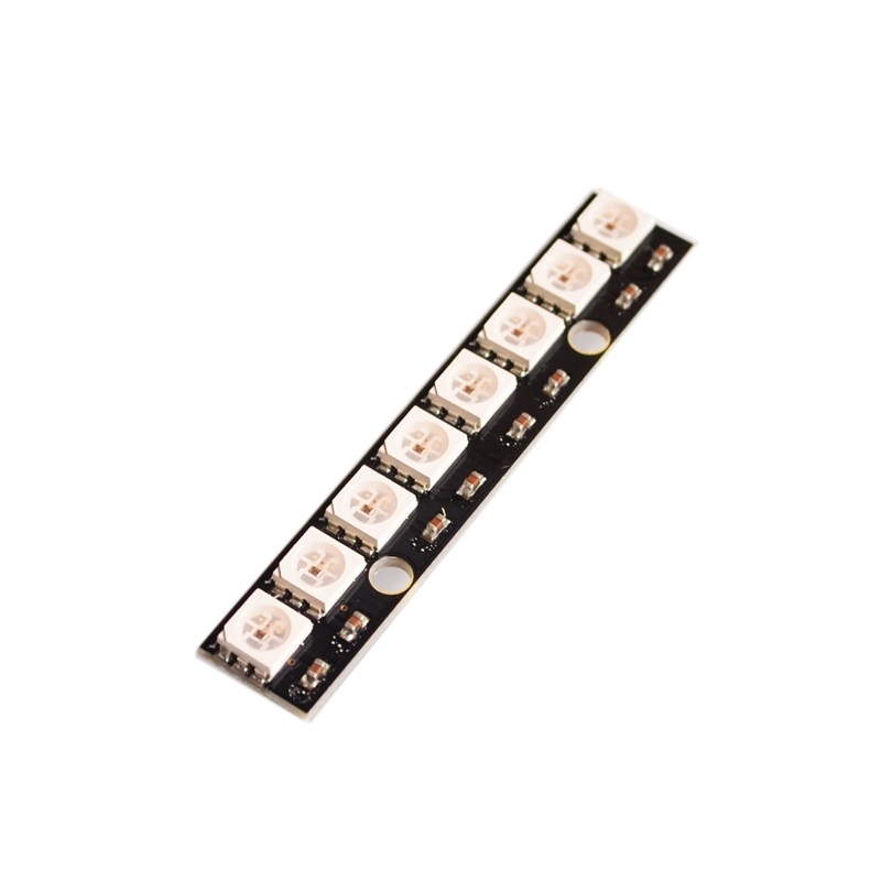 Diodes Hearty 1pcs Ws2812 Led 5050 Rgb 8x8 64 Led Matrix Ideal Gift For All Occasions