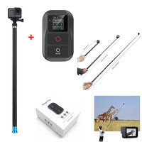 106 Extendable Handheld Monopod Pole With WIFI Remote Control For GoPro Hero 6 Hero 5 4 3 Session