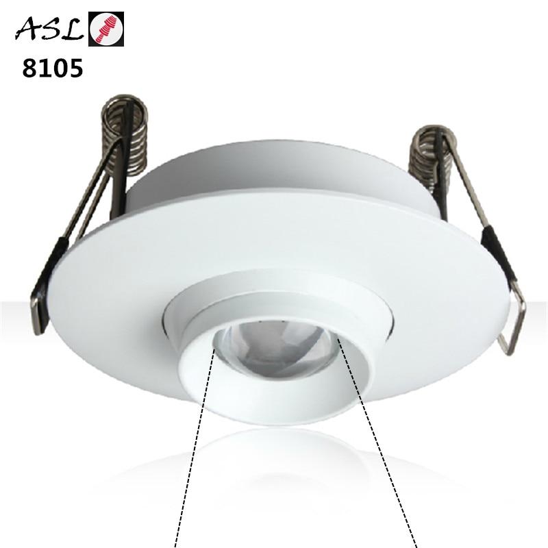 New Led Downlight Zoomable 3W LED Spot Light Led Ceiling Lamp Background Wall Decoration AC 110V 220V 2pcs/lot