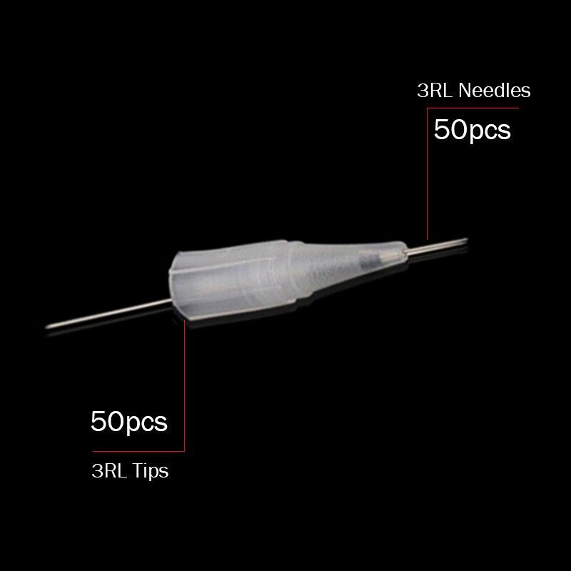 50pc 3R needles caps