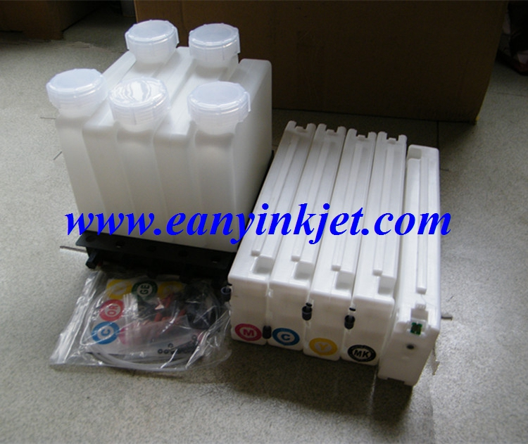 bulk ink system with chip  for Ep Surecolor  T3200 wide format printer