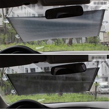40*60 40*125 50*125 58*125cm Retractable Car Windshield Visor Sun Shade Auto Front Rear Side Window Blinds shades
